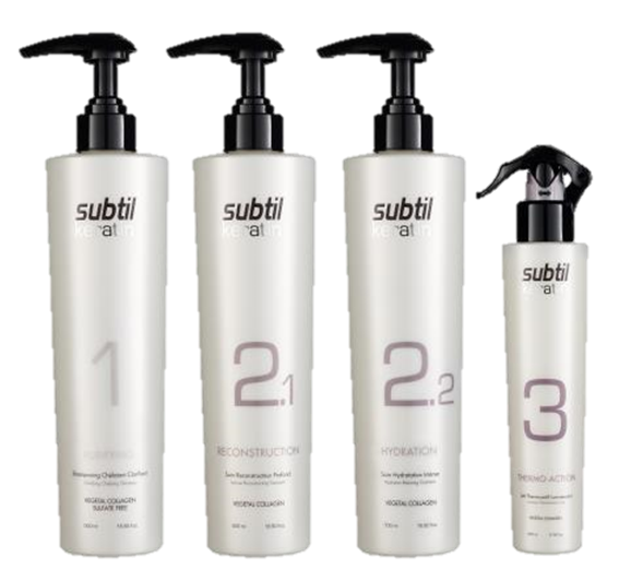 Subtil Keratin set salon 4 ks